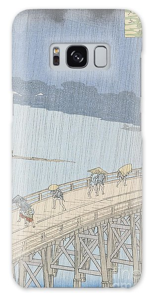 Hundred Galaxy Case - Sudden Shower On Ohashi Bridge At Ataka by Ando Hiroshige