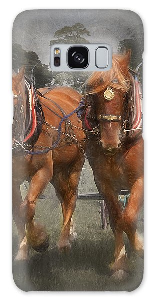 Suffolk Punch Galaxy Case