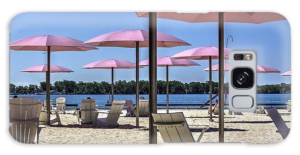 Sugar Beach Summer Galaxy Case by Nicky Jameson