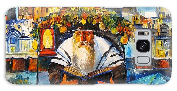Sukkot In Brooklyn Galaxy Case by Mikhail Zarovny