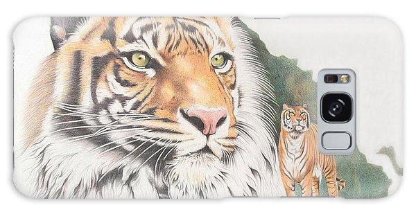 Galaxy Case - Sumatran Tiger by Jill Parry
