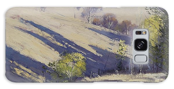 Farmland Galaxy Case - Summer Afternoon Shadows by Graham Gercken