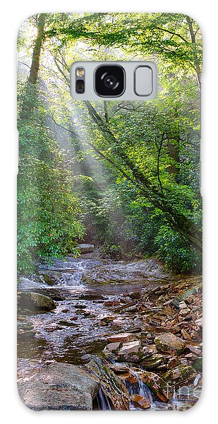 Summer Arrives On The Blue Ridge Parkway I Galaxy Case