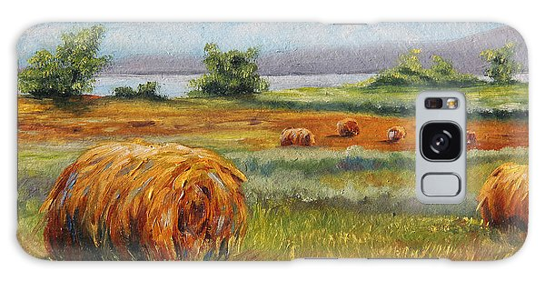 Summer Bales Galaxy Case