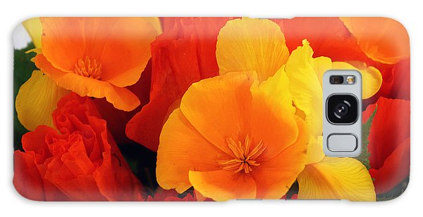 Summer Bouquet Galaxy Case by Gerry Bates