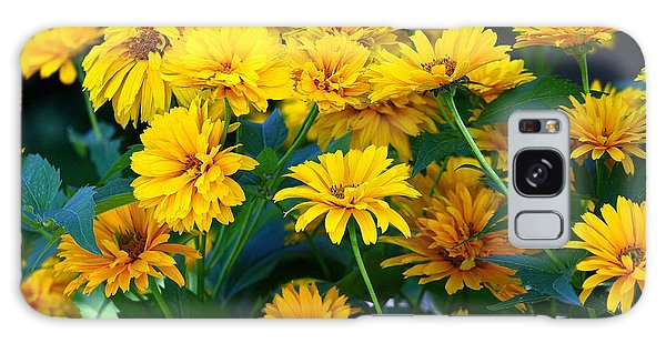 Summer Bouquet Galaxy Case by Linda Edgecomb