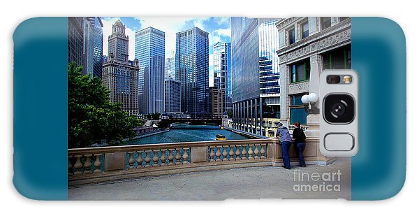 Summer Breeze On The Chicago River - Color Galaxy Case
