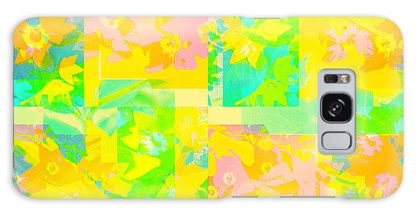 Summer Collage Galaxy Case by Barbara Moignard