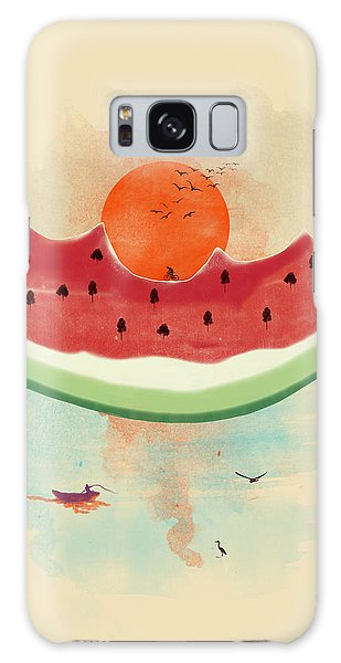 Watermelon Galaxy S8 Case - Summer Delight by Neelanjana  Bandyopadhyay