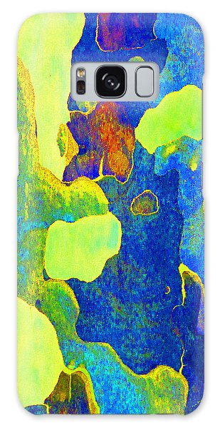 Summer Eucalypt Abstract 14 Galaxy Case by Margaret Saheed