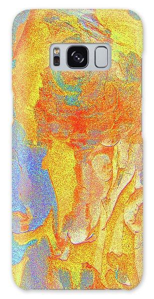 Summer Eucalypt Abstract 3 Galaxy Case