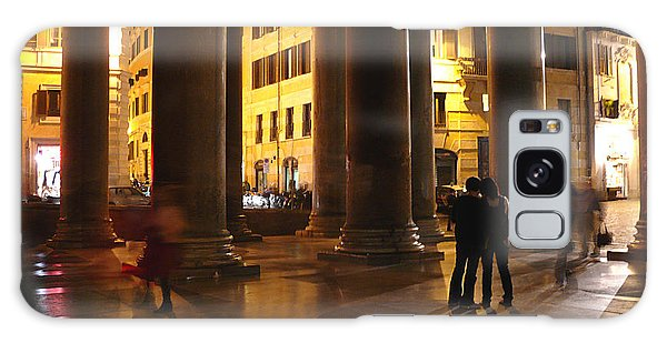 Summer Evening In Rome Galaxy Case