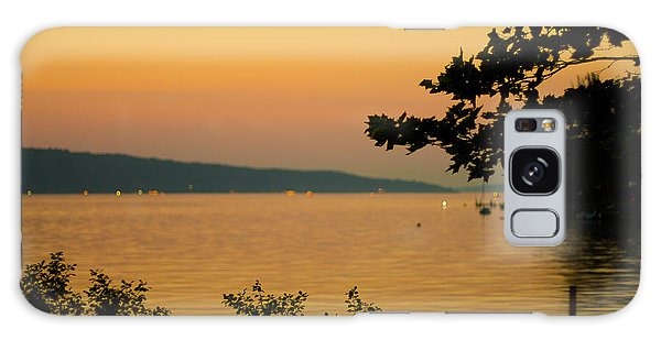 Summer Evening On Cayuga Lake Galaxy Case