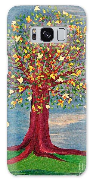 Summer Fantasy Tree Galaxy Case by First Star Art