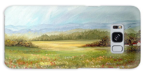 Summer Field At The Farm Galaxy Case by Dorothy Maier