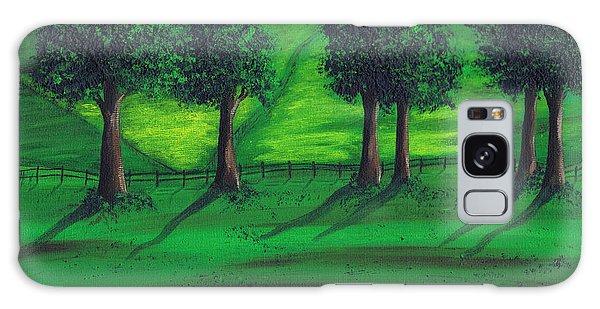 Summer Field Galaxy Case by Kenneth Clarke