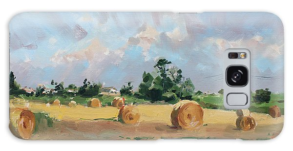 Georgetown Galaxy S8 Case - Summer Fields In Georgetown On by Ylli Haruni