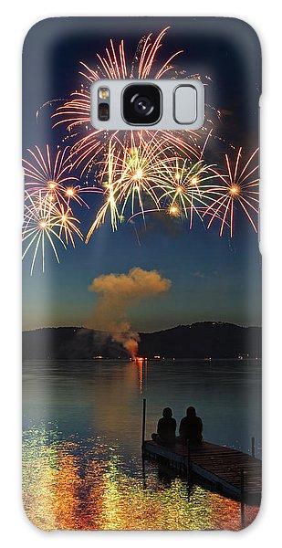 Summer Fireworks Galaxy Case