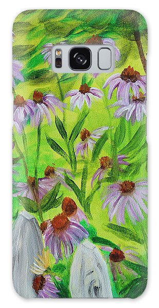 Summer Flowers In Peculiar Mo. Galaxy Case by Patricia Olson