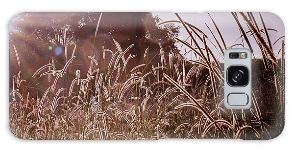 Summer Grasses Galaxy Case