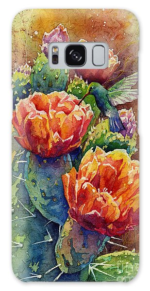 Bloom Galaxy Case - Summer Hummer by Hailey E Herrera
