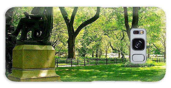 Summer In Central Park Manhattan Galaxy Case
