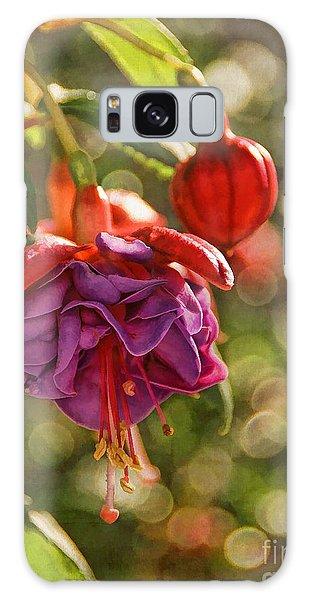 Summer Jewels Galaxy Case by Peggy Hughes