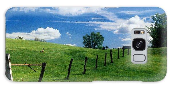 Summer Landscape Galaxy Case