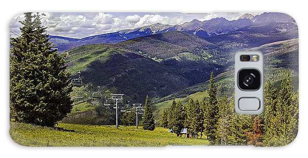 Summer Lifts - Vail Galaxy Case by Madeline Ellis