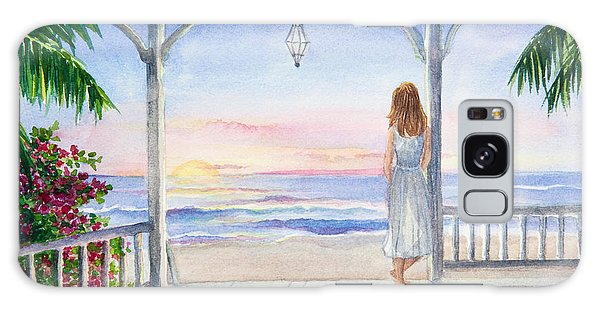 Summer Morning Watercolor Galaxy Case
