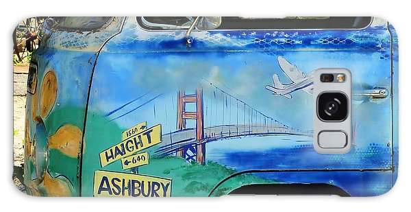Summer Of Love In Hashbury Galaxy Case by Jimmy Ostgard