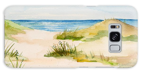 Summer On Cape Cod Galaxy Case by Michelle Wiarda