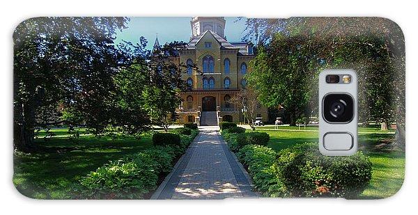 Summer On Notre Dame Campus Galaxy Case