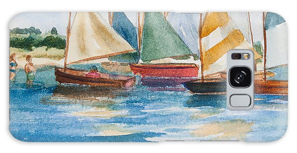 Summer Sail Galaxy Case by Michelle Wiarda