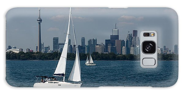 Summer Sailing Postcard From Toronto Galaxy Case