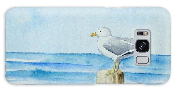 Summer Seagull Galaxy Case
