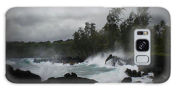 Summer Storm Hana Bay Hawaii Galaxy Case
