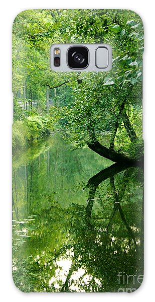 Summer Stream Galaxy Case by Melissa Petrey