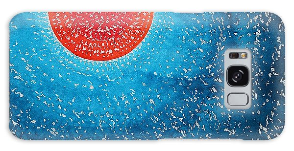 Summer Sun Original Painting Galaxy Case