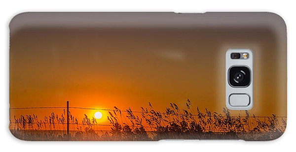 Summer Sunrise On The Plains Galaxy Case