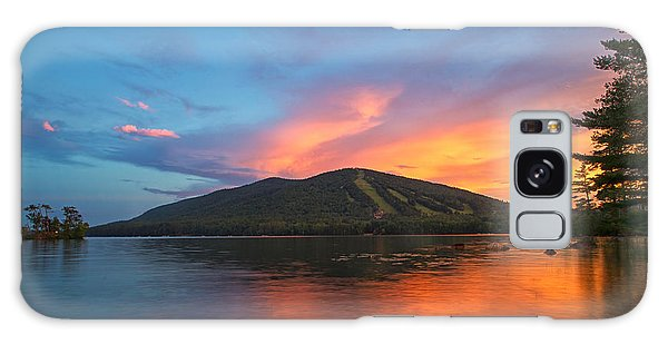 Summer Sunset At Shawnee Peak Galaxy Case