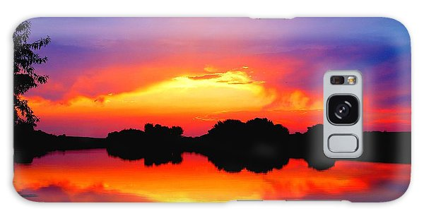 Summer Sunset  Galaxy Case by Lynn Hopwood
