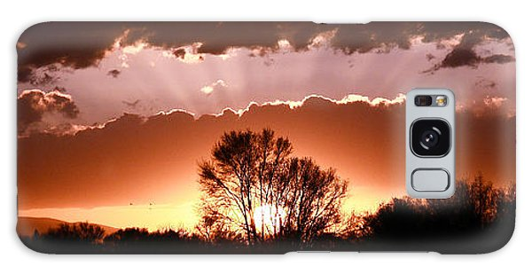 Summer Sunset Galaxy Case by Steven Reed