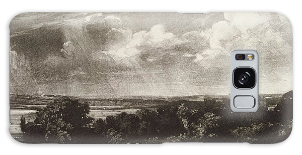 English Countryside Galaxy Case - Summerland, Engraved By David Lucas 1802-81 Mezzotint by John Constable