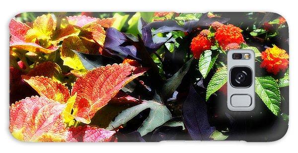 Summers Floral Colors Galaxy Case by Deborah Fay
