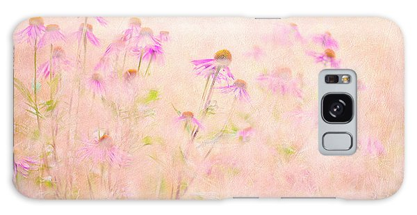 Pink Flower Galaxy Case - Summertime by Jacky Parker