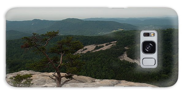 Summit Of Stone Mountain State Park In North Carolina Galaxy Case