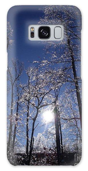 Sun And Ice Galaxy Case by Lyric Lucas