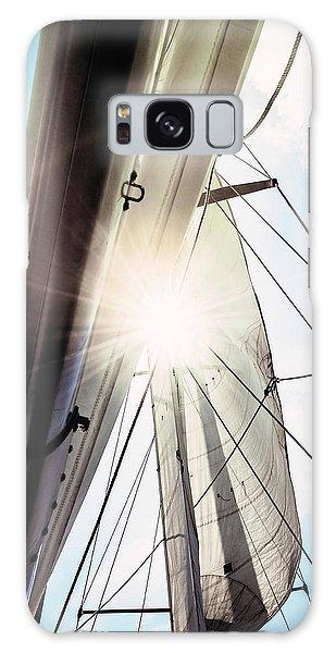 Sun And Sails Galaxy Case