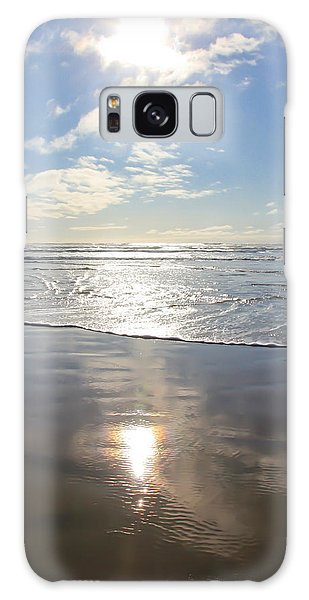 Sun And Sand Galaxy Case by Athena Mckinzie